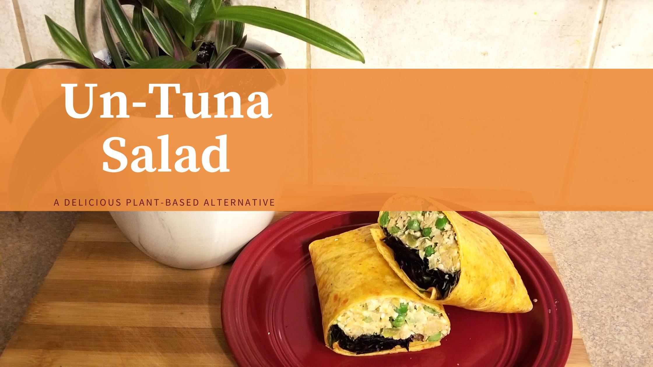 A delicious recipe for healthy un-tuna salad