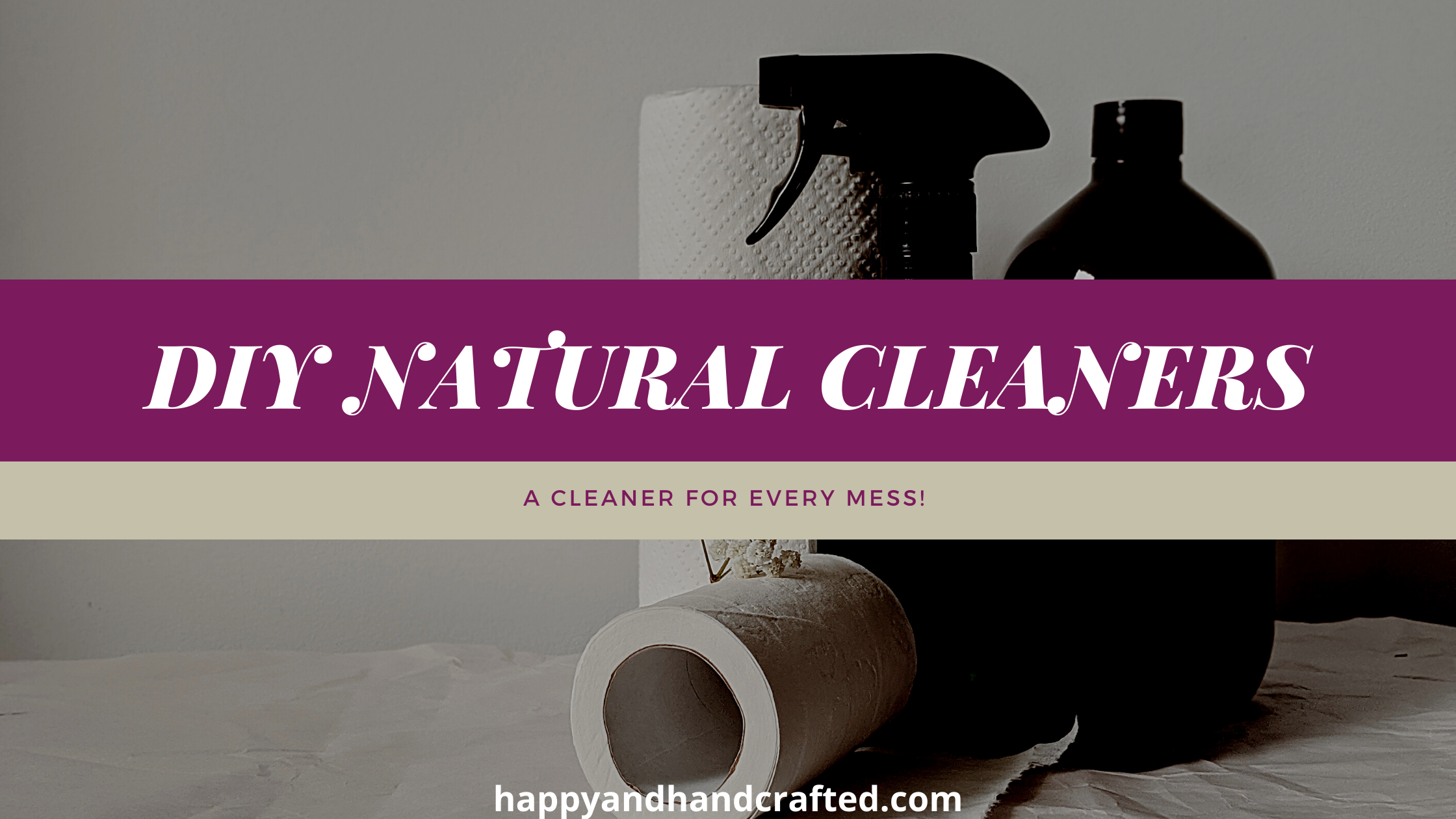 My favorite natural cleaners